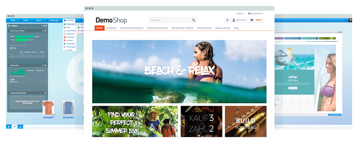 Shopware Open Source Online-Shop System